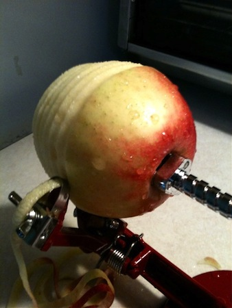 Apple Corer Closeup